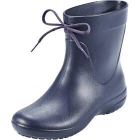 Crocs Freesail Shorty Rain Boots Women Navy
